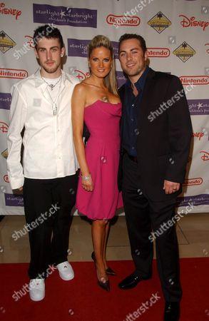 Jordan McGraw, Jay McGraw and wife Erica Dahm McGraw