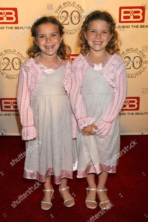 Stock Photo of Amanda Pace and Rachel Pace