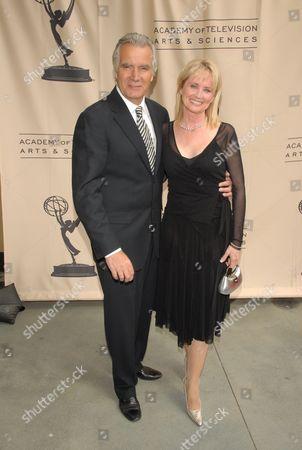 John McCook and Laurette Spang