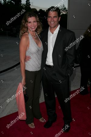 Ted McGinley and Wife Gigi Rice