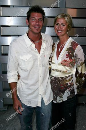 Stock Picture of Ty Pennington and Andrea Bock