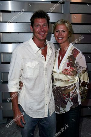 Stock Photo of Ty Pennington and Andrea Bock