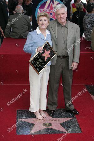 Patty Duke with Brother Raymond