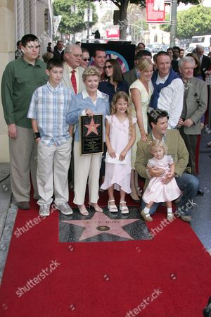 Patty Duke and Family with sons Sean and Mackenzie Astin and Hub