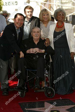 Editorial image of James Doohan Star Ceremony