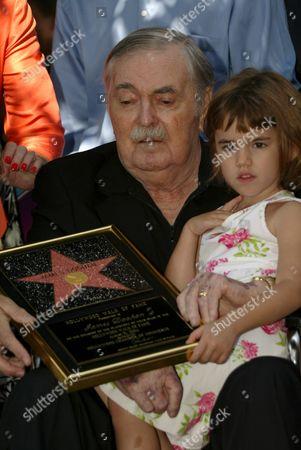 James Doohan and Daughter Sarah
