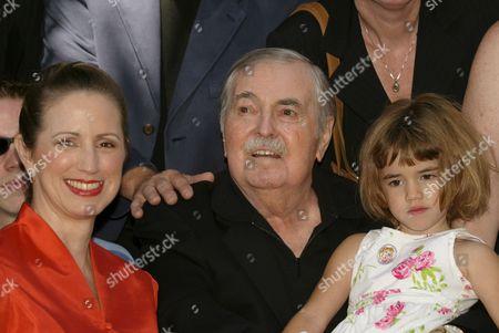 James Doohan, wife Wende and daughter Sarah