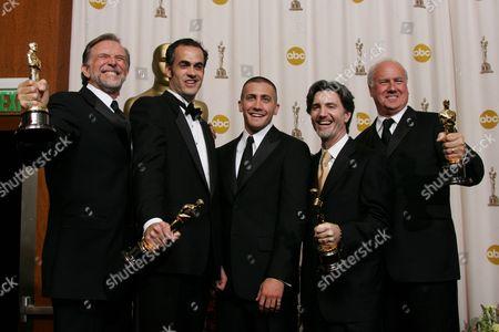 Stock Photo of John Dykstra, Scott Stokdyk, Anthony LaMolinara, John Frazier