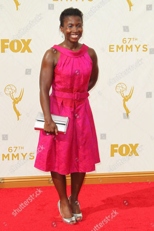 Editorial photo of 67th Primetime Emmy Awards, Arrivals, Los Angeles, America - 20 Sep 2015