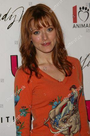 Stock Image of Elizabeth Bogush