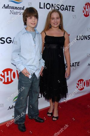 Alexander Gould and Allie Grant