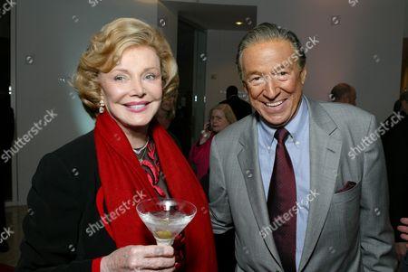 Barbara Sinatra and Mike Wallace
