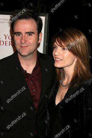 Christopher Moynihan and Kathleen Rose Perkins