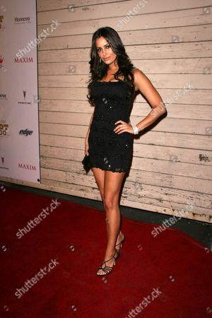 Editorial image of Maxim's 'Hot 100' 2008 Party