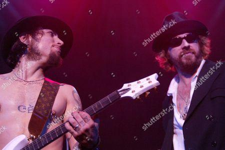 Dave Navarro and Leif Garrett