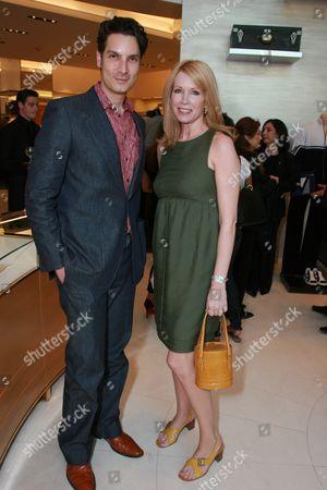 Cameron Silver and Susan Casden