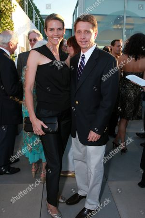 Brad Bell and wife