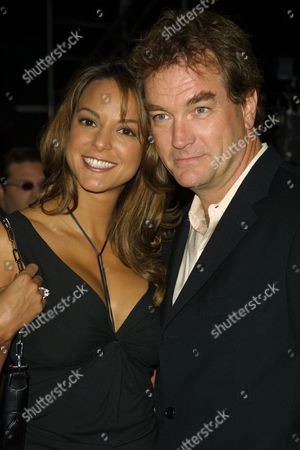 "Eva La Rue (left) and John Callahan, co-stars on ""All My Children,"" arriving to the premiere of 20th Century Fox' ""Unfaithful"" at the Ziegfeld Theatre in New York City on May 6, 2002.