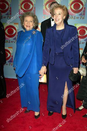 Betty White and Georgia Engel