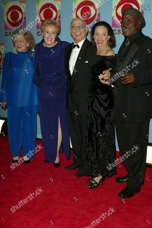 Stock Image of Betty White, Georgia Engel, Gavin McLeod, Valerie Harper and Joh