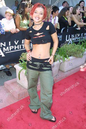 "Nikki McKibbin of ""American Idol"" at the 2002 Teen Choice Awards at the Universal City Amphitheatre in Universal City, California on August 4, 2002.  Universal City, California  Photo® Matt Baron/BEImages.net"