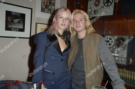 Harriet Verney and Dominic Jones