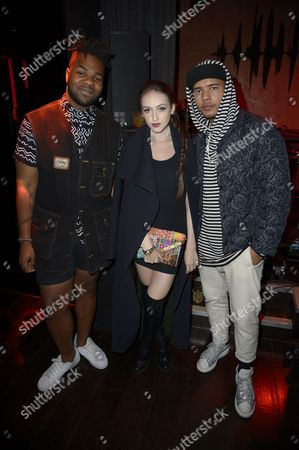 Editorial picture of Flaunt magazine fashion party, London, Britain - 20 Sep 2015