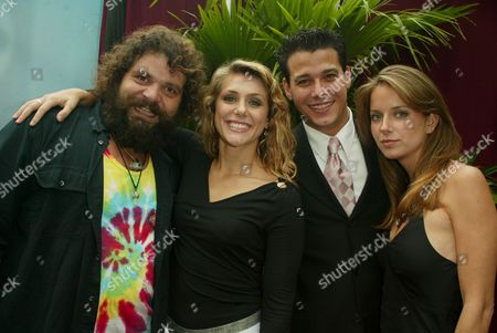 Rupert Boneham, Jenna Lewis, Rob Mariano and Amber Brkich