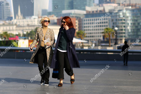 Lorraine Candy and Natasha Pearlman