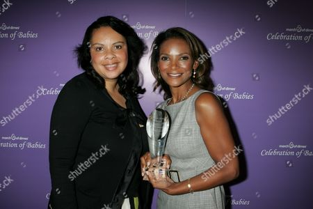Angele Price and Dr. Lisa Masterson