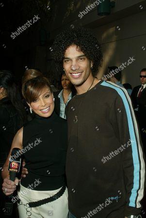 Stock Image of Paula Abdul and Corey Clark