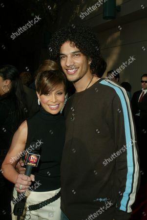 Paula Abdul and Corey Clark