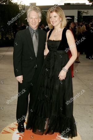 Bill Mahr and Ariana Huffington