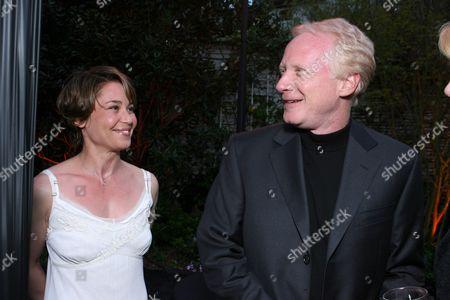 Julie Warner and Don Most