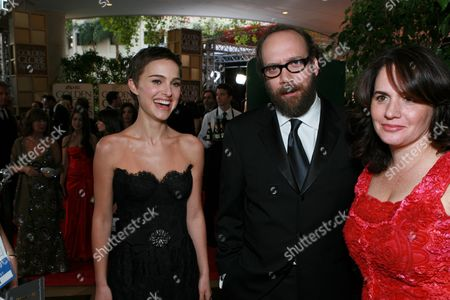 Natalie Portman, Paul Giamatti & Elizabeth Cohen