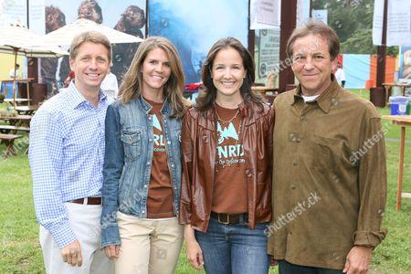 Brad Bell, Colleen Bell, Elizabeth Wiatt and Jim Wiatt