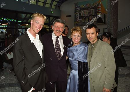 Jake Busey, John Astin, Dee Wallace Stone and Jeffrey Combs