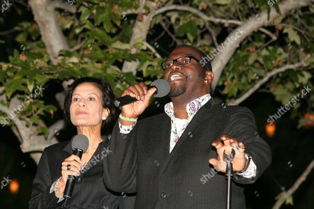 Andrea Fiuczynski and Randy Jackson