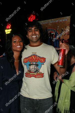 Candace Smith and Jay Chandrasekhar