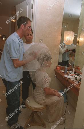Paula Abdul and Hairstylist Chris McMillan
