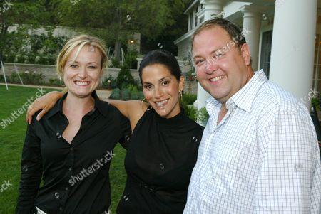 Jennifer Irwin, Jami Gertz and Mark Addy