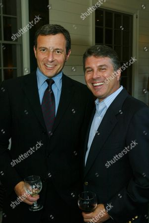 Bob Iger and Ted Harbert
