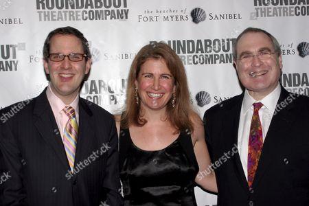 Harold Wolpert, Julia Levy, Todd Haimes