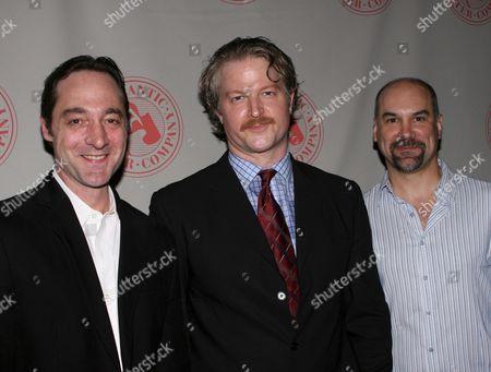 Brennan Brown, C J Wilson, Greg Stuhr