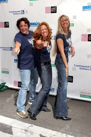 Stock Image of Gina Ferrall, Carolee Carmello, Joan Hess