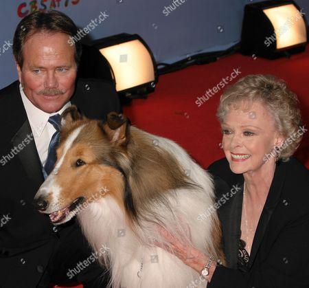 Stock Picture of Jon Provost, Lassie, June Lockhart