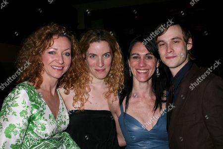 Julie White, Liz Flahive, Leigh Silverman, Tobias Segal