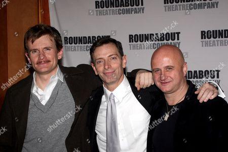 Charles Edwards, Arnie Burton, Cliff Saunders
