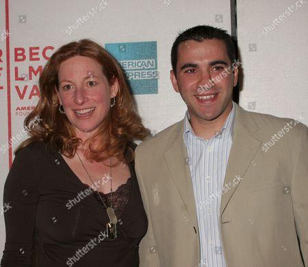 Deborah Scranton and Sgt. Zack Bazzi
