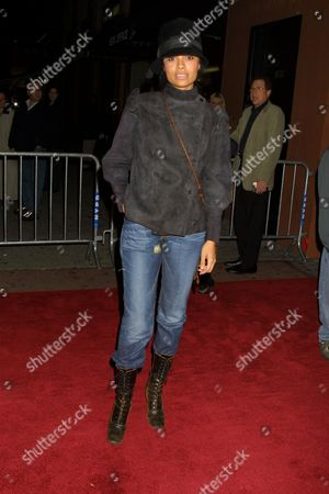 """Amel Larrieux at the premiere of """"The Independent"""" at the Village East Cinema in New York City on November 26, 2001.  Manhattan, New York  Photo® Matt Baron/BEI"""